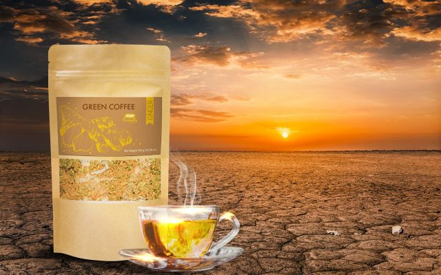 Green Coffee Superfood with Ginger