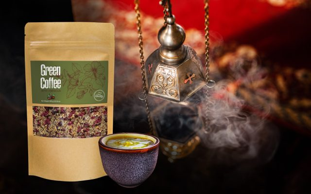 Green Coffee Superfood with Hibiscus