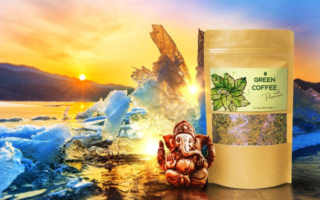 Green Coffee Superfood with Peppermint