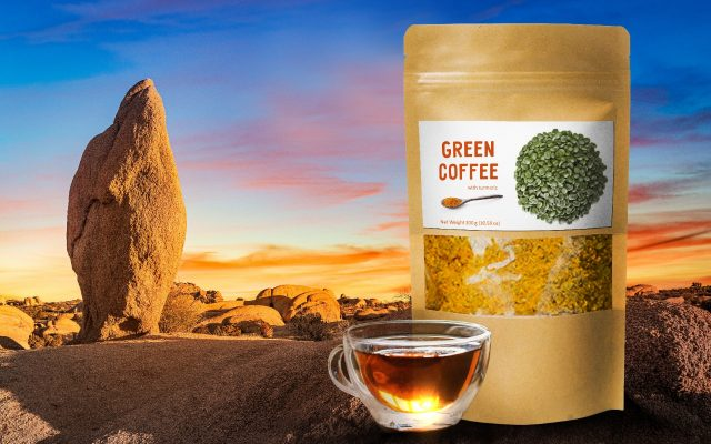 Green Coffee Superfood with Tumeric
